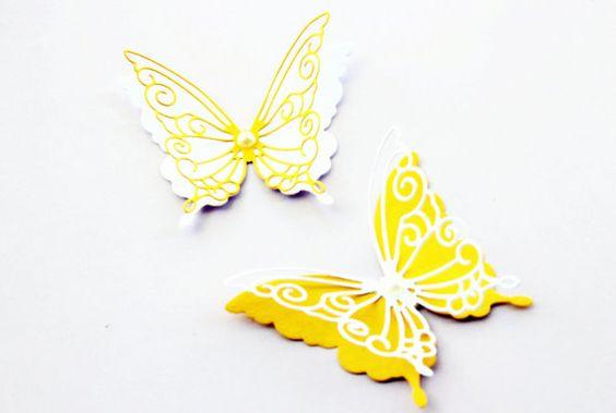 3d butterfly wall art - Wall decorations - Nursery wall decor ...