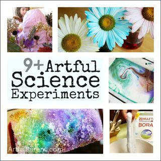 Artful Science Experiments Kids Can Do at Home: Science Experiments Kids, For Kids, Science Projects, Homeschool Science, Kids Science, Artful Science, Science Fun, Artful Parent