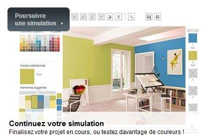 Pratique le simulateur peinture de Zolpan. #deco #couleurs