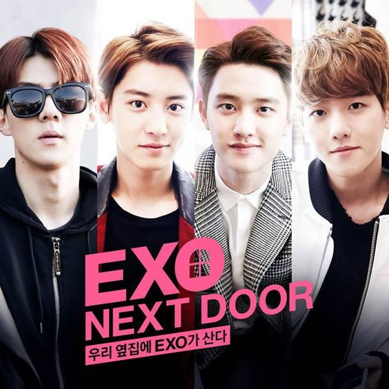 "[Video] Korean Web drama ""EXO Next Door"" @ HanCinema :: The Korean Movie and Drama Database"