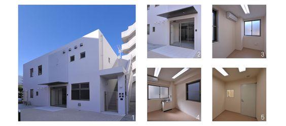 クリニックとマンションの一体型ビル