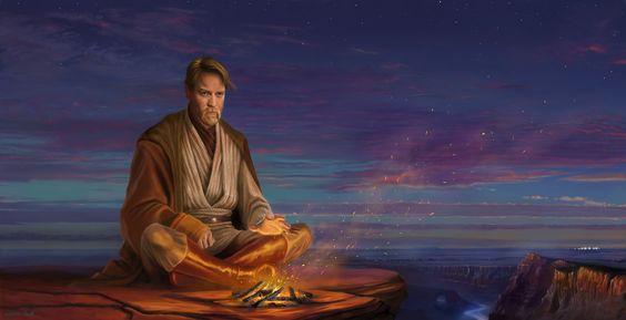 Hermit Obi Wan Kenobi by AvdeevIgor | Fan Art | 2D | CGSociety