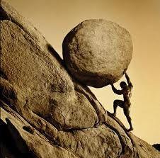 Sísifo, el mito del trabajo duro e inútil.