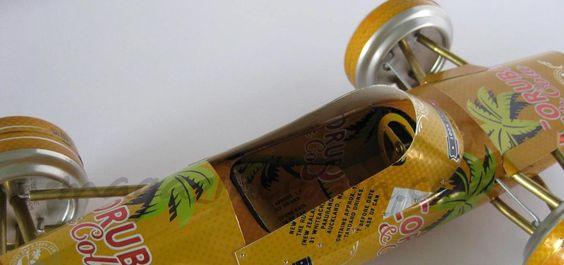 Convierte tus latas en un coche