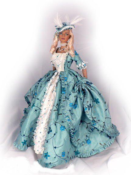 Black Hills Doll Designs Gallery Marie Antoinette