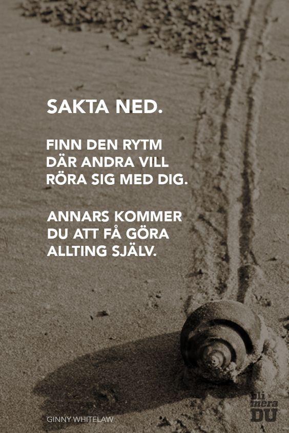 Sakta ned. Klokt citat av Ginny Whitelaw. blimeradu.se