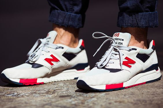 jcrew new balance 998 independence day 1 J.Crew x New Balance 998 ...