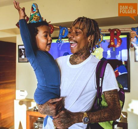 After Drama With Amber Rose, Wiz Khalifa Finally Gets To Throw A Late Birthday Party For Bash