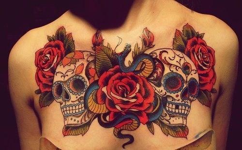 Los tatuajes de calaveras mexicanas mas lindos Tattoo Inspirations
