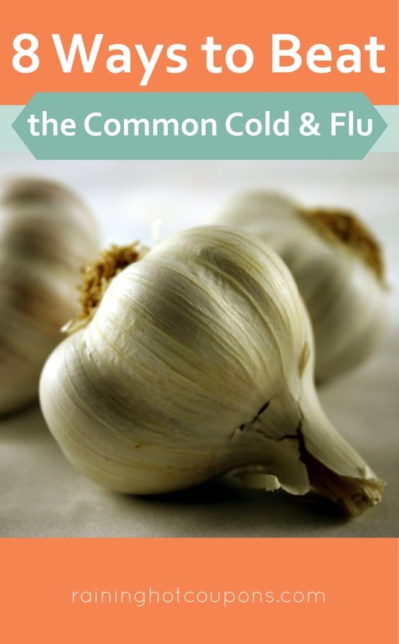 8 Ways To Beat The Common Cold and Flu. #health #colds