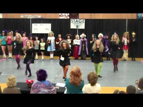 Irish dance video: The Wicked Witches of the West. #irish #dance #costume #feis #video #wicked #witches