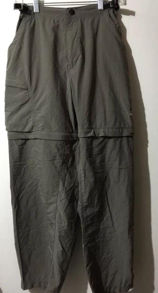 REI Women's Nylon Convertible Cargo Pants Shorts Sz Small Hike Camp Belted #REI #Cargo