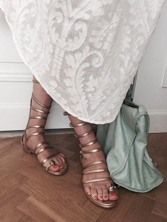 Chanel spartiates gladiator
