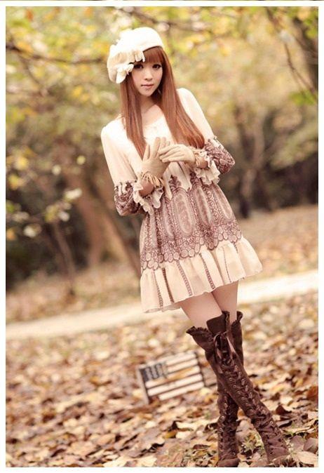Was für ein hübsches Outfit