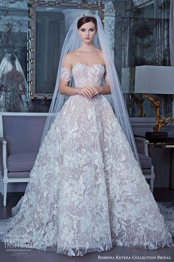 Romona Keveza Collection Bridal Fall 2019 Wedding Dresses