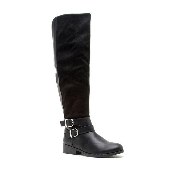 Maddie Black Boots
