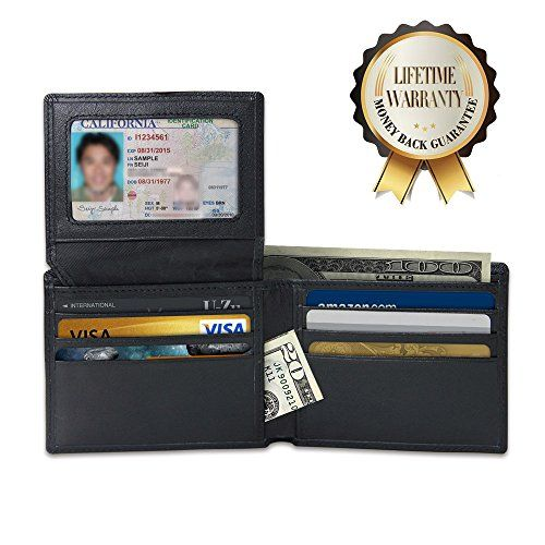 RFID Blocking Leather Wallet Stop Electronic Pick Pocketing and Identity Theft Counters Identity Theft and Credit Card Data Breaches by Blocking RFID Scans Innoo Tech http://www.amazon.com/dp/B0169MK2VO/ref=cm_sw_r_pi_dp_-hNKwb0FXSPTM