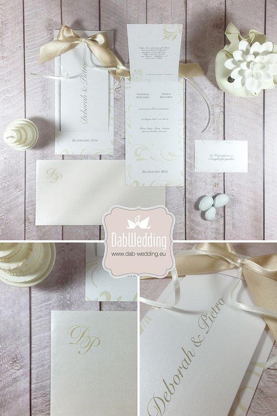 Aiko, la nostra partecipazione elegante e raffinata per matrimonio dai temi romantici. Aiko, our elegant wedding invitation for romantic weddings.
