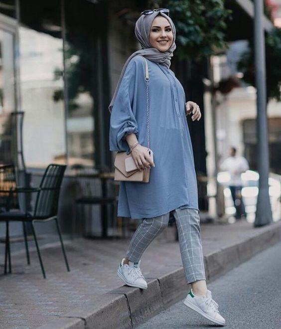 40+ Trend Terbaru Ootd Rok Mini Jeans Hijab - Marie Charlot