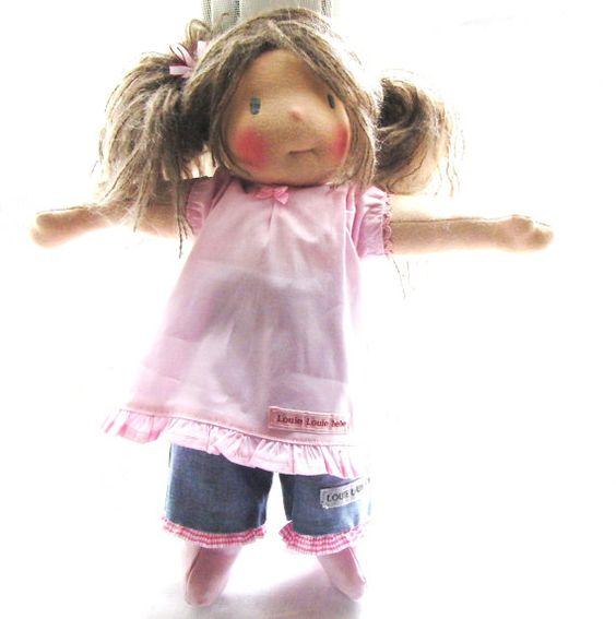 "Scout-  A 15"" doll   Louie Louie Bebe Dolls"