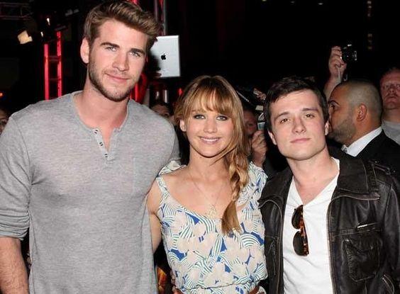 I love how he's struggling to be as tall as Jen. It's ok. Tall or short, he's still awesome.