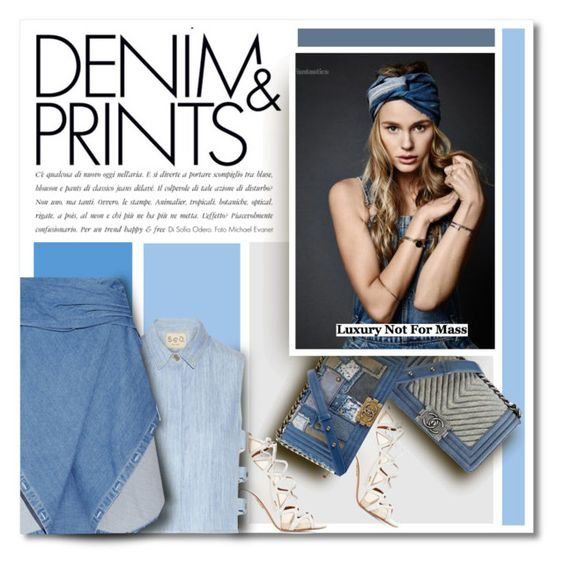 """Chanel Denim Series"" by defivirdavp ❤ liked on Polyvore"