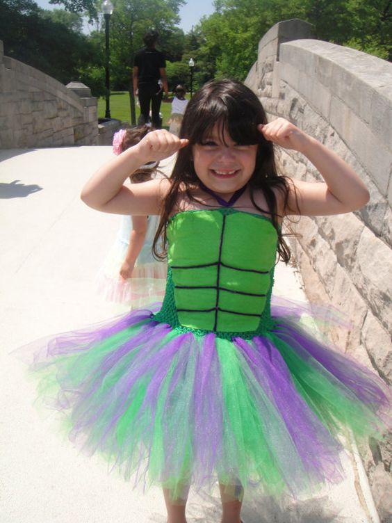 Incredible Hulk Costume//Incredible Hulk Tutu//Halloween Costume//Halloween Tutu//Hulk Girl//Hulk Woman: