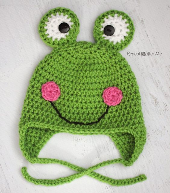 It's Spring! Bunnies, ducks, puddles, planting seeds, baby birds, blossoming flowers, AND FROGS! If you need a quick and cute crochet project, this frog hat is the one for you! Because it basically only uses one color, it works up fairly fast. Great for the cool spring weather and perfect for a boy or a …