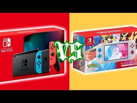New Nintendo Switch Vs Switch Lite Youtube Nintendo Switch Nintendo Switch