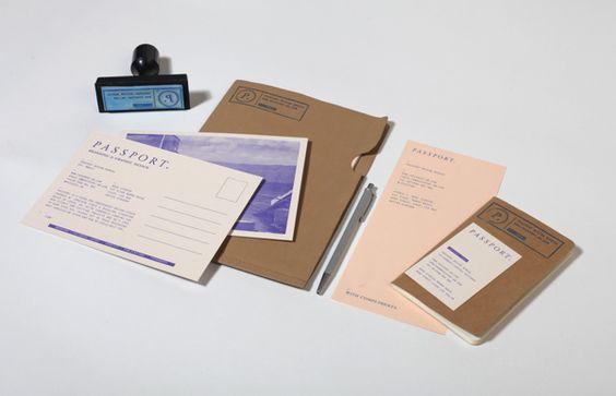Passport Branding / Identity by Passport , via Behance