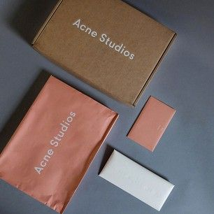 acne studios packaging - Google Search
