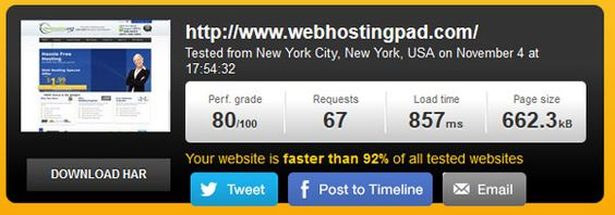 How fast is your Web Hosts own Site? - http://www.besthostnews.com/how-fast-is-your-web-hosts-own-site/