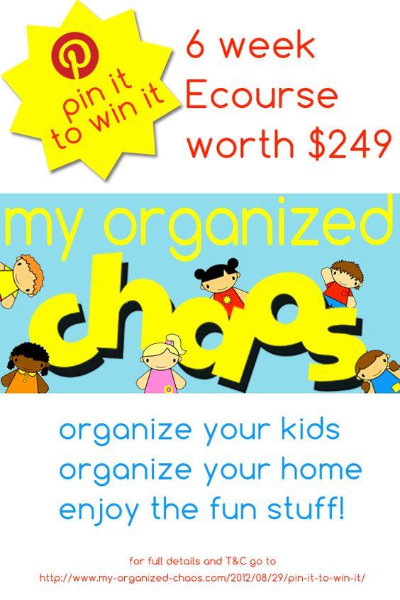 #MyOrganizedChaos