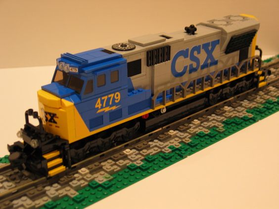 awesome lego train.
