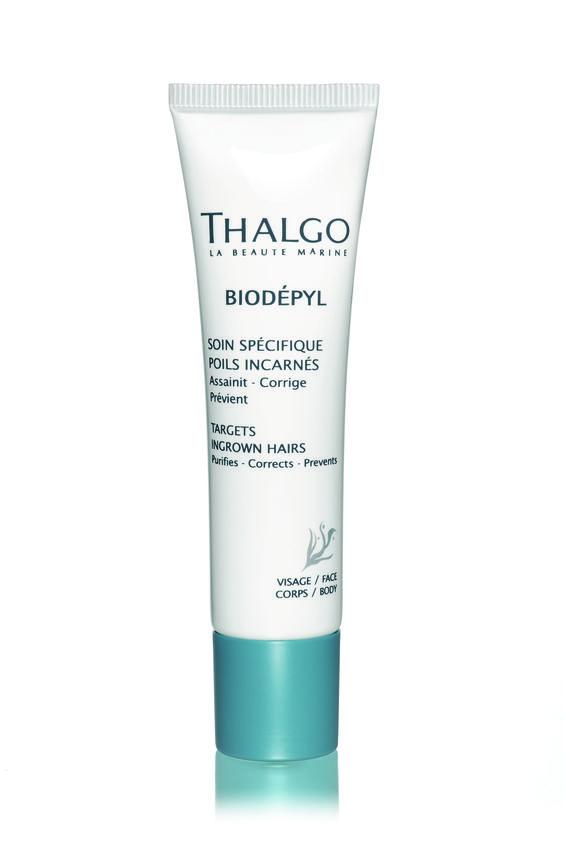 THALGO Post-Epilation: Spezialpflege gegen eingewachsene Haare  Regenerierende Lösung gegen eingewachsene Haare