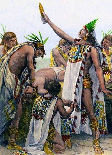 -SACRIFIOS HUMANOS MEXICAS -HUMAN AZTEC SACRIFICES