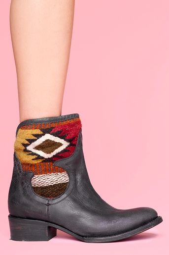 nasty gal caballero ankle boot