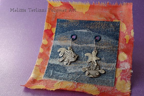 Pure silver goldfish earrings | by melissa_terlizzi