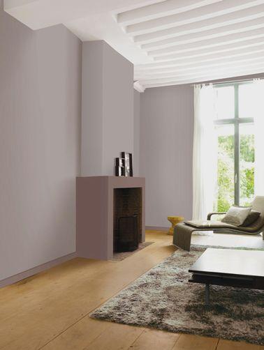 12 nuances de peinture gris taupe pour un salon zen for Peinture mur salon design