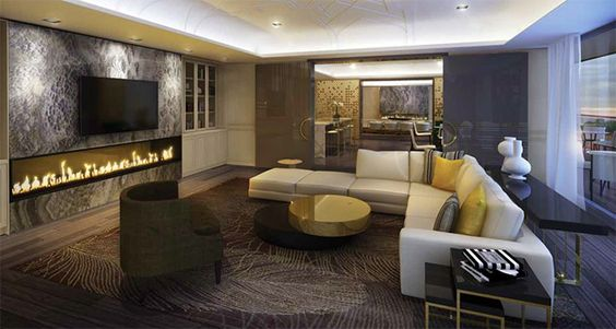 The Yorkville Lounge Amenity Spaces Are Designed By IBI Group