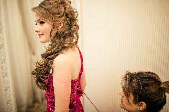 penteados para festa debutante - Pesquisa Google: