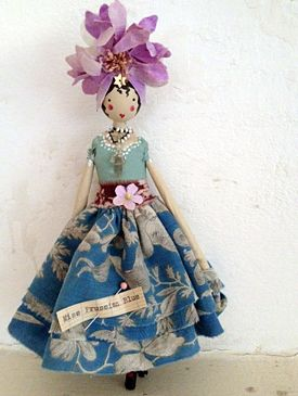 Fairy Miss Prussian Blue: