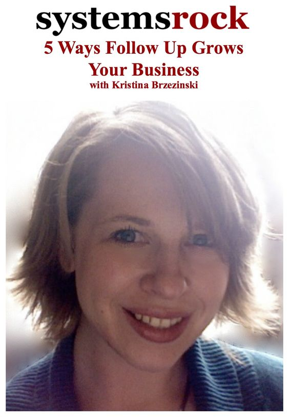 For great tips on how to follow up online and offline, go here http://systemsrock.com/5-ways-follow-up-grows-your-business/