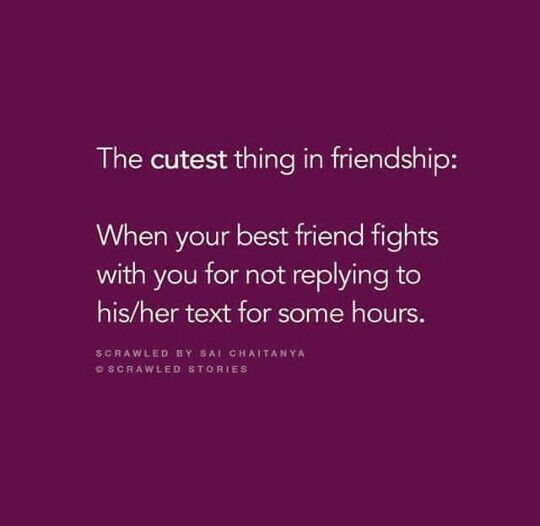 I think it\'s always me who fights.. | Besties quotes ...