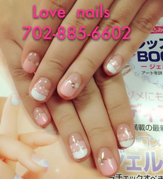 Visually appealing nails will help you with your charm and make your day better!!~~ #LoveNails #Nails #NailArt #NailPorn #NailSalon #NailStudio #Fashion #Style