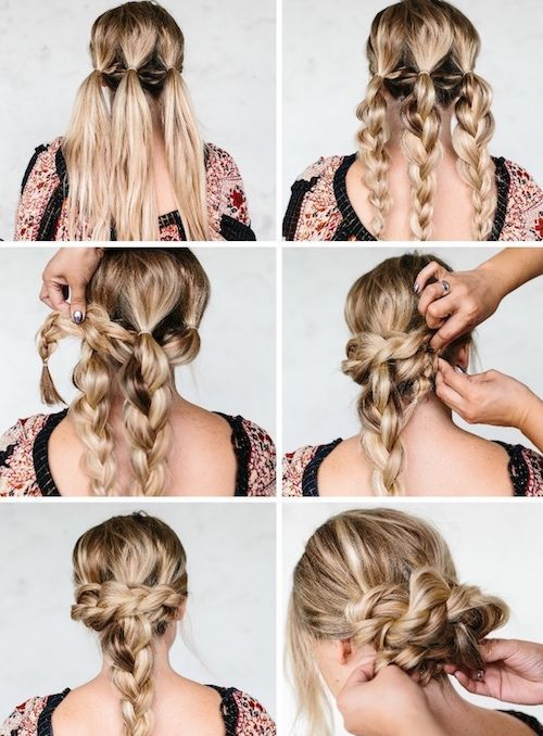 1001 Ideen Und Anleitungen Fur Moderne Frisuren Mit Locken Mit Diesen Sportfri 1001 Ide Geflochtene Frisuren Flechtfrisuren Mittellange Haare Frisuren Einfach