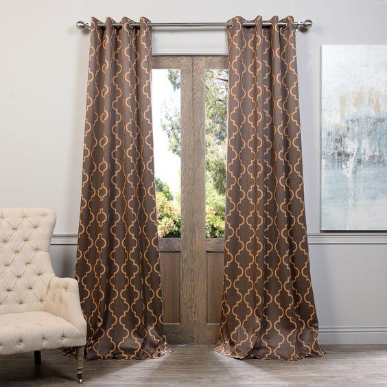 Seville Grommet Blackout Curtain Panel