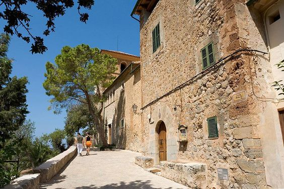 """In Mallorca, """"there were postcard vistas at every turn"""""""