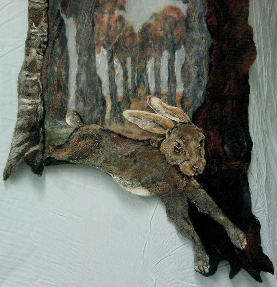 Hazen | Textielkunstenaar Mieke Werners: