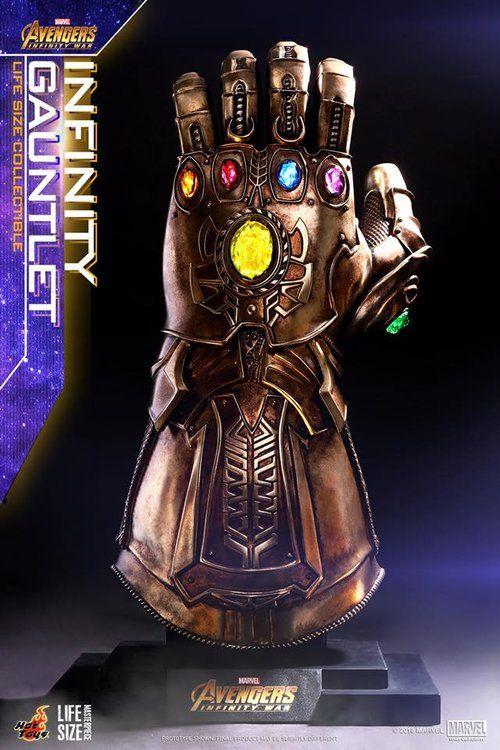 Hot Toys Avengers Infinity War Iron Man Action Figure And Thanos Infinity Gauntlet Geektyrant Marvel Infinity Avengers Infinity War Avengers
